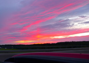 Sunset Scandinavia Style